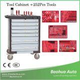 Maleta de ferramentas do gabinete de ferramenta/liga de alumínio com as ferramentas 252PCS