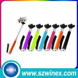 Radio extensible plegable del palillo de Bluetooth Selfie con el obturador alejado incorporado para la caja del teléfono