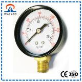 Personalizzato a membrana Manometro analogico Gollere manometro di bassa pressione