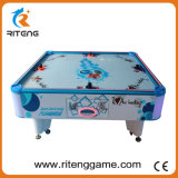 Coin-Operated White Classic Square Cube 4 Jogadores Kiddy Air Hockey Table