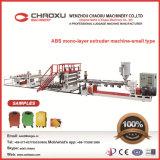 2016 Nueva máquina plástica de la extrusora de la placa de la película del ABS para el equipaje