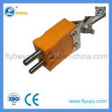 プラグが付いているNeedle-Shaped Kのタイプ適用範囲が広い温度センサ