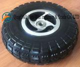力の車椅子(4.10/3.50-4)で使用される平ら自由なPUの車輪