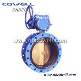 Válvula de borboleta elétrica do aço inoxidável