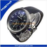 新しい最新の普及したQuarzは腕時計の人の腕時計を遊ばす