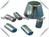 De speciale Magneet van het Neodymium van de Vorm N35-N52 Gesinterde