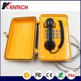 Пожарная сигнализация Телефон Погодостойкая телефонная трубка Беспроводное обслуживание Телефонная система Аварийный телефон Knsp-11