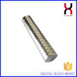 Magnete permanente di figura rotonda del boro del ferro del neodimio forte
