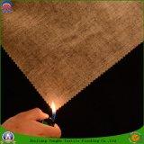 Tissu imperméable à l'eau de rideau en arrêt total de franc de polyester de tissu tissé par textile à la maison pour des abat-jour de rouleau