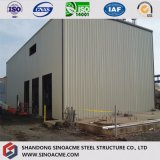 Пакгауз/гараж качества Q345b Prefab стальные структурно/полиняно