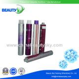 Color del cabello Crema Metal Embalaje Tubo con tapas de plástico Ncm 761210
