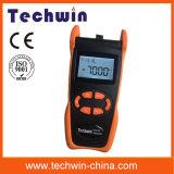 Fibra óptica Equipo de prueba del medidor de potencia Techwin Tw3208e