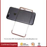 더하기 iPhone 7/7을%s 이동 전화 상자를 전기도금을 하는 가장 새로운 매우 얇은 TPU