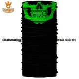 Projete seu próprio Magic Multifuncional Seamless Black Skull Sports Bandanas