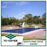 上の地上のプールのためのカスタムサイズの安全冬のプールカバー
