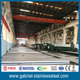 Placa de acero inoxidable 10m m gruesa laminada en caliente 304 de la talla de estándares 4X8