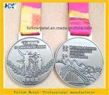 Medaglia del premio di sport per la maratona, i disegni personalizzati ed i materiali accolti favorevolmente