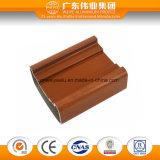 Cor de madeira da grão do perfil de alumínio do Wardrobe