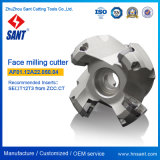 CNC 선반 맷돌로 갈기를 위한 탄화물 삽입 Seet12t3를 가진 단단한 금속 합금 마스크 맷돌로 가는 절단기