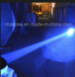 青か赤い楕円形LEDの点ライトフォークリフトの警報灯