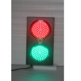 Escuela verde roja del aluminio 200m m que enseña al semáforo del LED