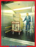 機械部屋の貨物エレベーターとの5トン