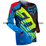 Motocross de competência Jersey da roupa da motocicleta do desgaste do Sublimation do OEM (MAT27)
