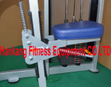 la strumentazione di ginnastica, la forma fisica, macchina di concentrazione del martello, ha messo la pressa a sedere DF-7018 del piedino