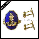 Золотистое соединение тумака Solider для воинской эмблемы армии (BYH-10429)