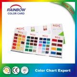 Servicio de impresión para la tarjeta del color de la pintura del suelo del epóxido de la emulsión