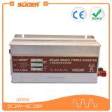 격자에 의하여 변경되는 사인 파동 태양 변환장치 1000W (STA-1000B) 떨어져 Suoer 24V 220V