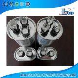 Peças do condicionador de ar, funcionamento do motor e capacitor de começo