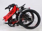 Bike мотора 20 дюймов складывая электрический Bike