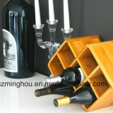 Бутылки шкафа 8 вина Widsom Bamboo для домашней полки хранения