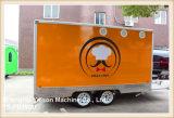 Ys-Fb390dの食糧トラックサウジアラビアを販売するオレンジ食糧トラックのトレーラー