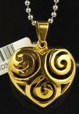 Halsband van de Tegenhanger van het Hart van de Laag van de Juwelen 2017 van de manier de Dubbele in Halsbanden