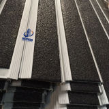 Anti-Slip Black Carborundum Insert Aluminium Alloy Base Stair Tread