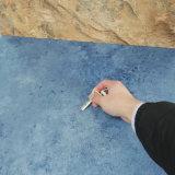 Suelo del vinilo del PVC de la cáscara y del palillo de la absorción sana