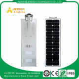 Doppelt-Lampen-Solarstraßenlaterneder Fertigung-40W