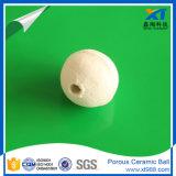 Witte Poreuze Ceramische Bal voor de Media van het Water en van de Steun van de Filter