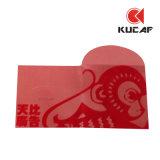 Sobre afortunado rojo de papel adaptable