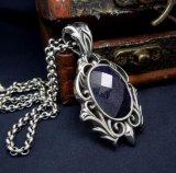 Ювелирные изделия женщин вспомогательного оборудования способа голубого ожерелья песчаника привесные