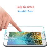 Protetor super da tela dos acessórios do telefone móvel do espaço livre 9h para Samsung E7