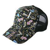 Chapeau noir frais de mâche (JRT094)