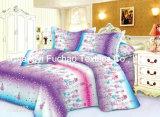 卸し売り工場綿材料キルトにするファブリック現代ベッドカバーの寝具の一定のベッド・カバーシートの双生児のサイズ