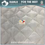 4 * 4 Grid Poliéster tela acolchada para la cama