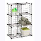 Metallmaterieller Speicher-Organisator, kann Kleidung, Spielwaren (FH-W0030) speichern