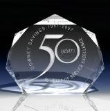 Trofeo al por mayor de la concesión de la estrella del vidrio cristalino de la fábrica para el regalo