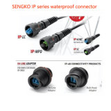 O Sell impermeável da fábrica da alta qualidade do cabo de correção de programa da fibra Duplex diretamente o conetor do IP LC de Sengko