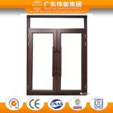 Puerta de aluminio del aluminio del perfil de la protuberancia de la antigüedad del nuevo producto de Weiye